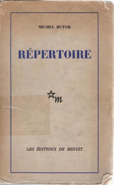 Michel Butor, Répertoire